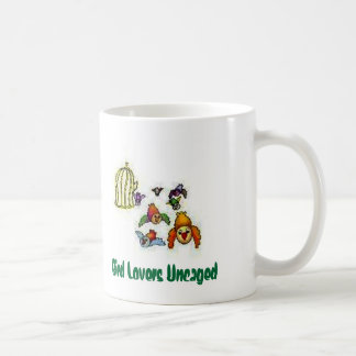 Coffee Mug Bird Lovers Uncaged