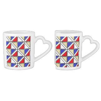 Coffee Mug Set by Jennifer Shao