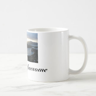Coffee Mug with Awesome Antigua Beach/ Quote