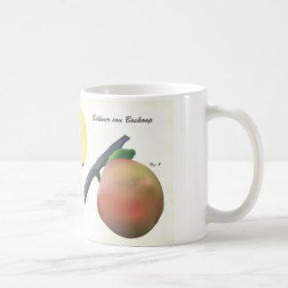 Coffee Mug with Scientific Illustration