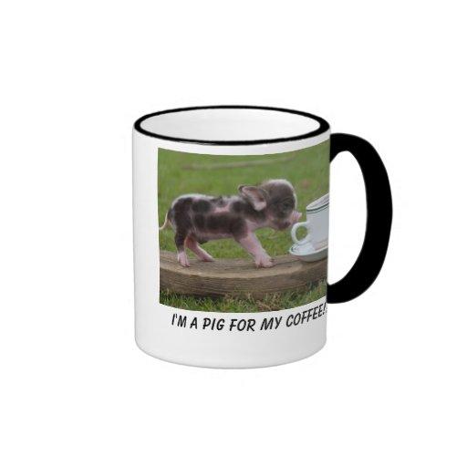 Coffee Pig Mugs