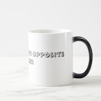 Coffee = Polar Opposite of Beer Morphing Mug