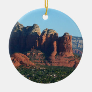 Coffee Pot Rock I in Sedona Arizona Christmas Ornament