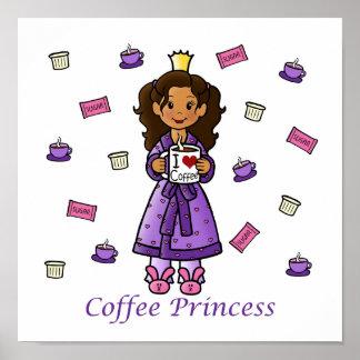 Coffee Princess Poster