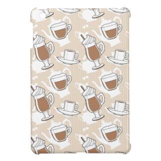 Coffee, sweet pattern iPad mini case