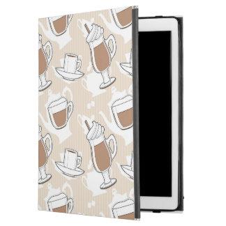 """Coffee, sweet pattern iPad pro 12.9"""" case"""