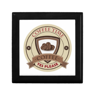 Coffee Time Yes Please Logo Gift Box
