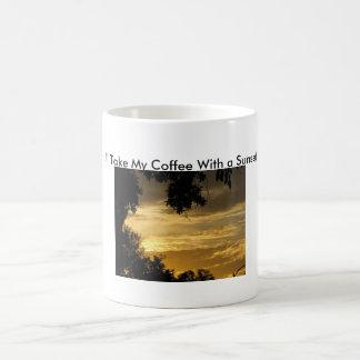Coffee With A Sunset Coffee Mug
