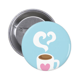 Coffee with steam pins