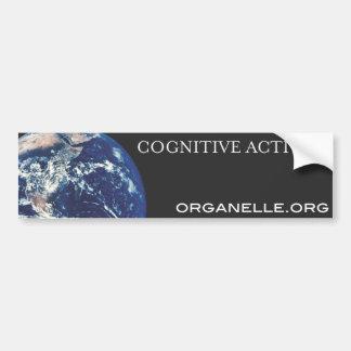 Cognitive Activism Bumper Sticker