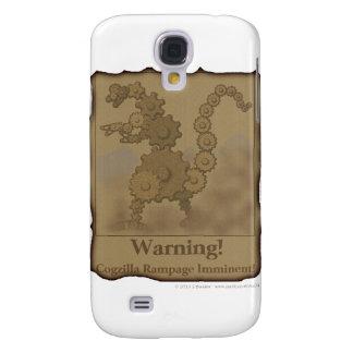 "CogzillA ""Warning!"" Galaxy S4 Case"
