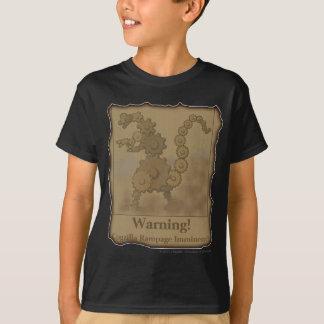 """CogzillA """"Warning!"""" T-Shirt"""