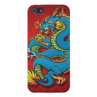 Coiled Chinese Dragon iPhone 5/5S Cover