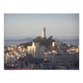 Coit Tower - San Francisco, CA - by P.M.Dudiak Art Photo