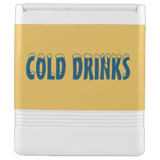 Cold Drinks Igloo Can Cooler Chilly Bin
