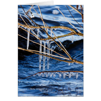 Cold Fingers Greeting Card