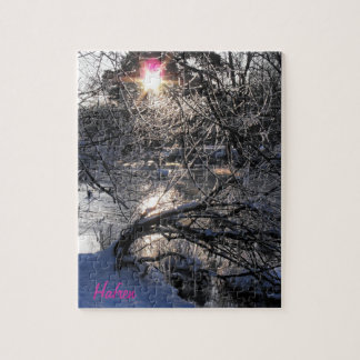 Cold River Hafren Jigsaw Puzzle