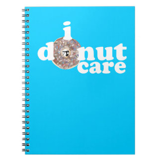 Colin's Face on Everything Donut Other Stuff Spiral Note Book