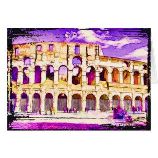 Coliseum Note Card