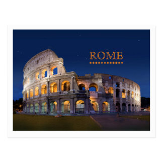 Coliseum Rome Post Card
