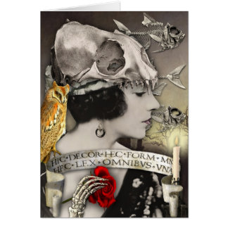Collage Art Card