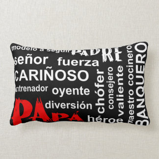 Collage of Expressions Pillow - Papa RTXT Throw Cushions