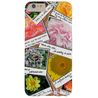 Collage of Flowers Barely There iPhone 6 Plus Case
