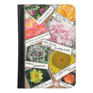 Collage of Flowers iPad Mini Case