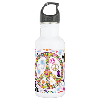 Collage of Peace 532 Ml Water Bottle