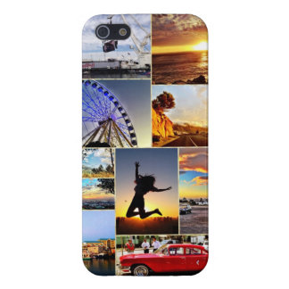 Collage of the Cape Case For iPhone 5/5S