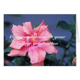 college graduation card