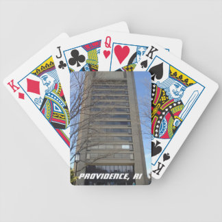 College Hill, Providence, RI Poker Cards