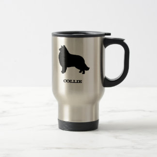 Collie Stainless Steel Travel Mug