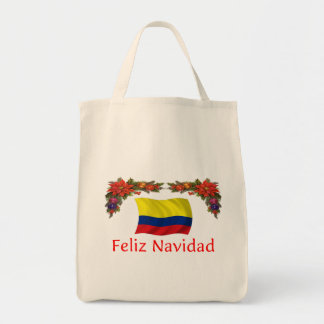 Colombia Christmas Tote Bag