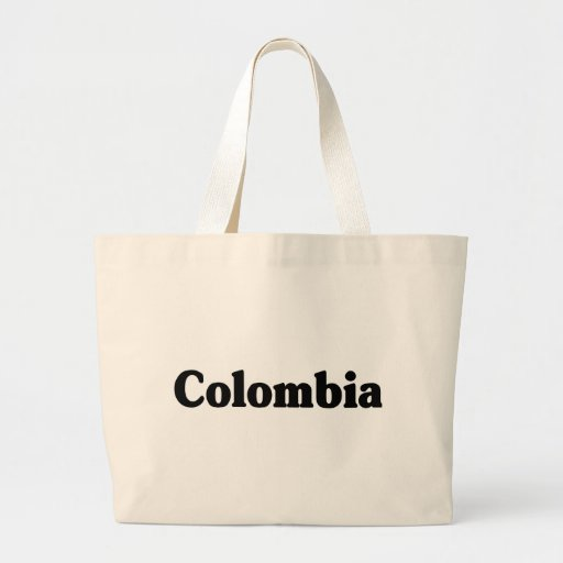Colombia Classic Style Tote Bags