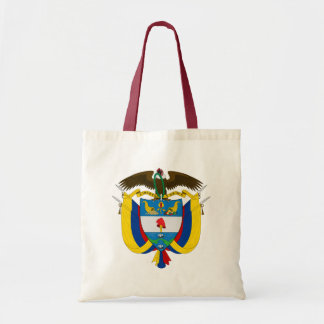 colombia emblem tote bag