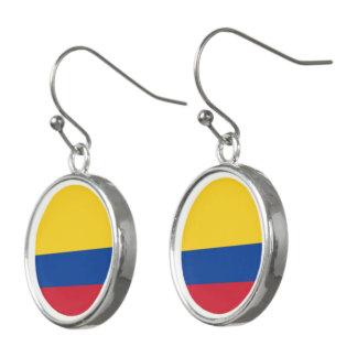Colombia Flag Earrings