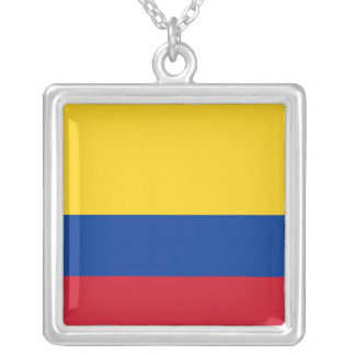 Colombia Flag Necklace