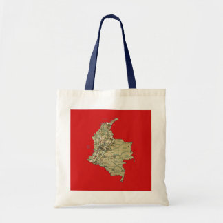 Colombia Map Bag
