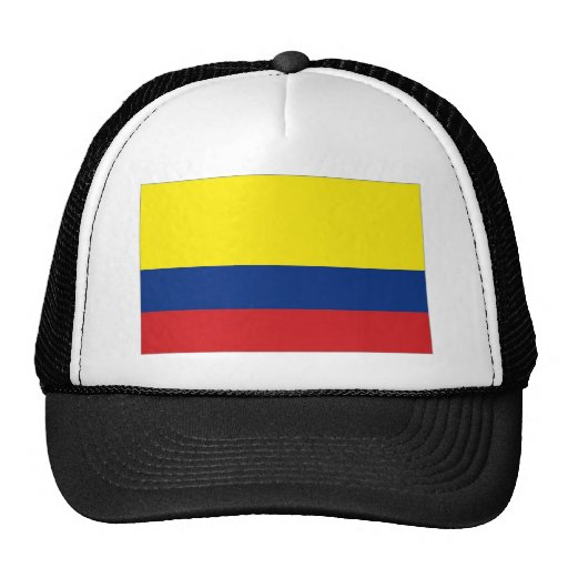 Colombia National Flag Hats