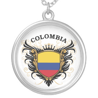 Colombia Silver Plated Necklace
