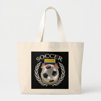 Colombia Soccer 2016 Fan Gear Large Tote Bag