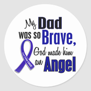 Colon Cancer Awareness Month Stickers Zazzle Nz