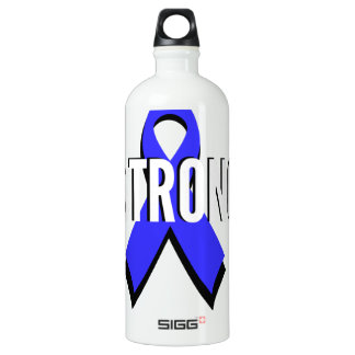 Colon Cancer Blue Ribbon Strong SIGG Traveller 1.0L Water Bottle