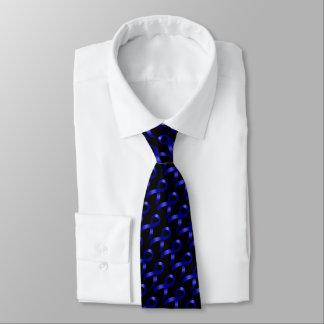 Colon Cancer Blue Ribbon Tie