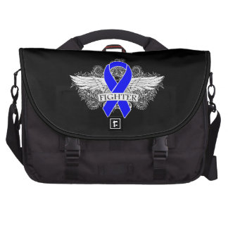 Colon Cancer Fighter Wings Bags For Laptop
