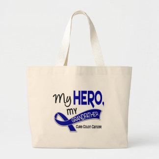 Colon Cancer MY HERO MY GRANDFATHER 42 Bag
