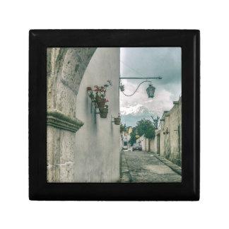 Colonial Street of Arequipa City Peru Gift Box