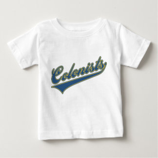 Colonists Script Baby T-Shirt