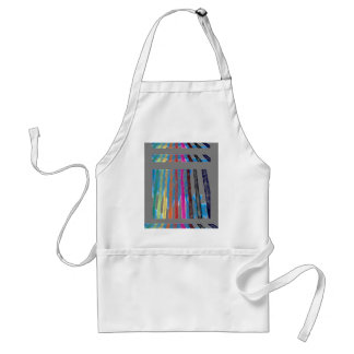 Color Band Rainbow Waterfall CricketDiane Standard Apron